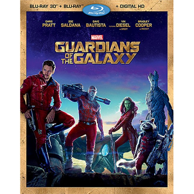 Guardians of the Galaxy Blu-ray 3D Combo Pack