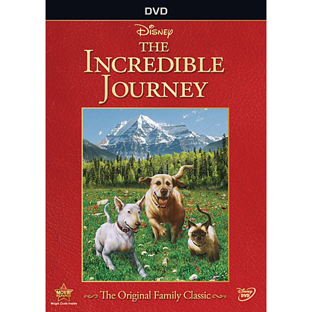 The Incredible Journey DVD Official shopDisney