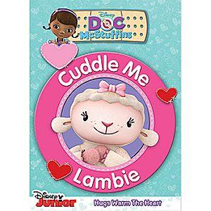 Doc McStuffins: Cuddle Me Lambie DVD 7745055551492P