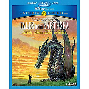 Tales from Earthsea Blu-ray and DVD Combo Pack 7745055551495P