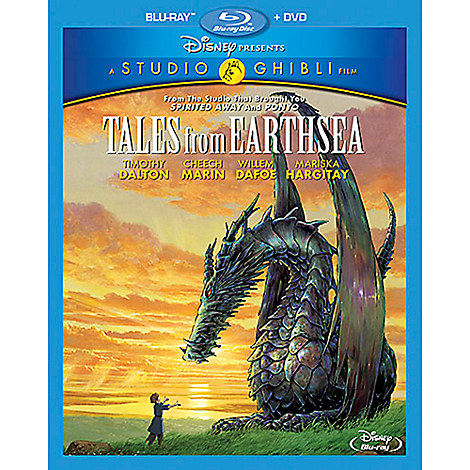 Tales from Earthsea Blu-ray and DVD Combo Pack