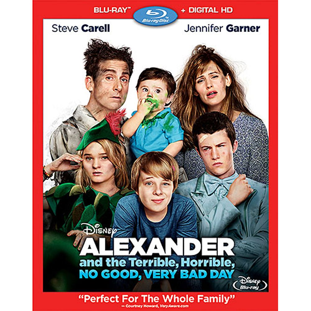 Alexander and the Terrible, Horrible, No Good, Very Bad Day Blu-ray Official shopDisney