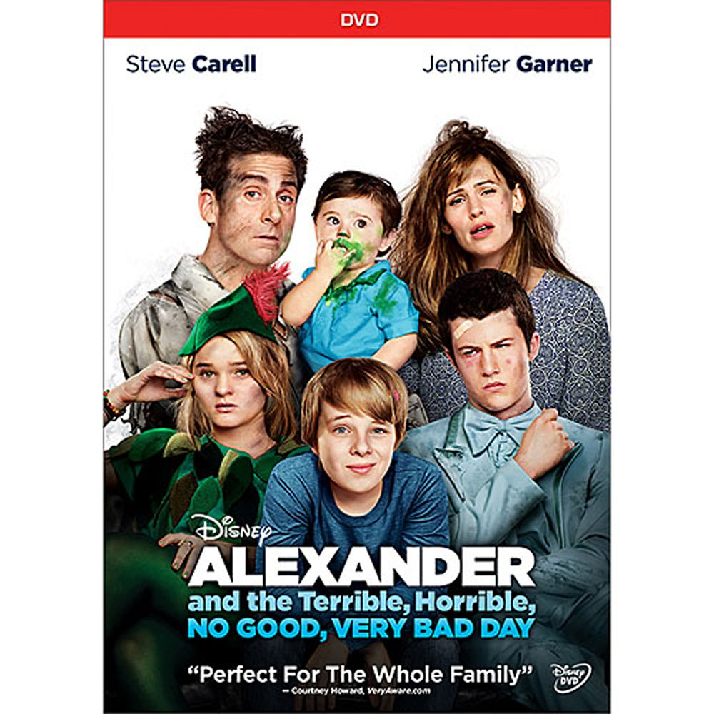 Alexander and the Terrible, Horrible, No Good, Very Bad Day DVD