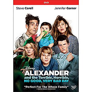Alexander and the Terrible, Horrible, No Good, Very Bad Day DVD 7745055551497P
