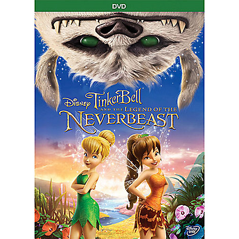 Tinker Bell and the Legend of the NeverBeast DVD