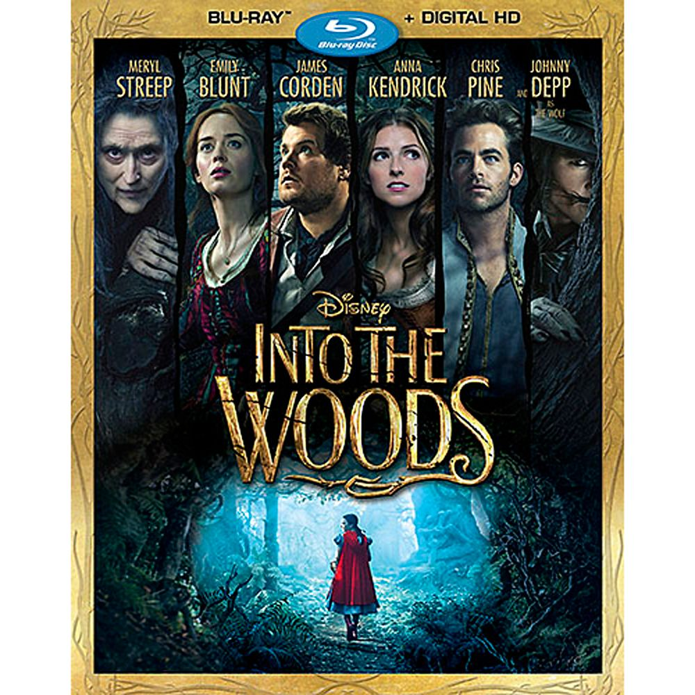Into the Woods Blu-ray Official shopDisney
