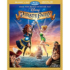 The Pirate Fairy Blu-ray Combo Pack 7745055551504P