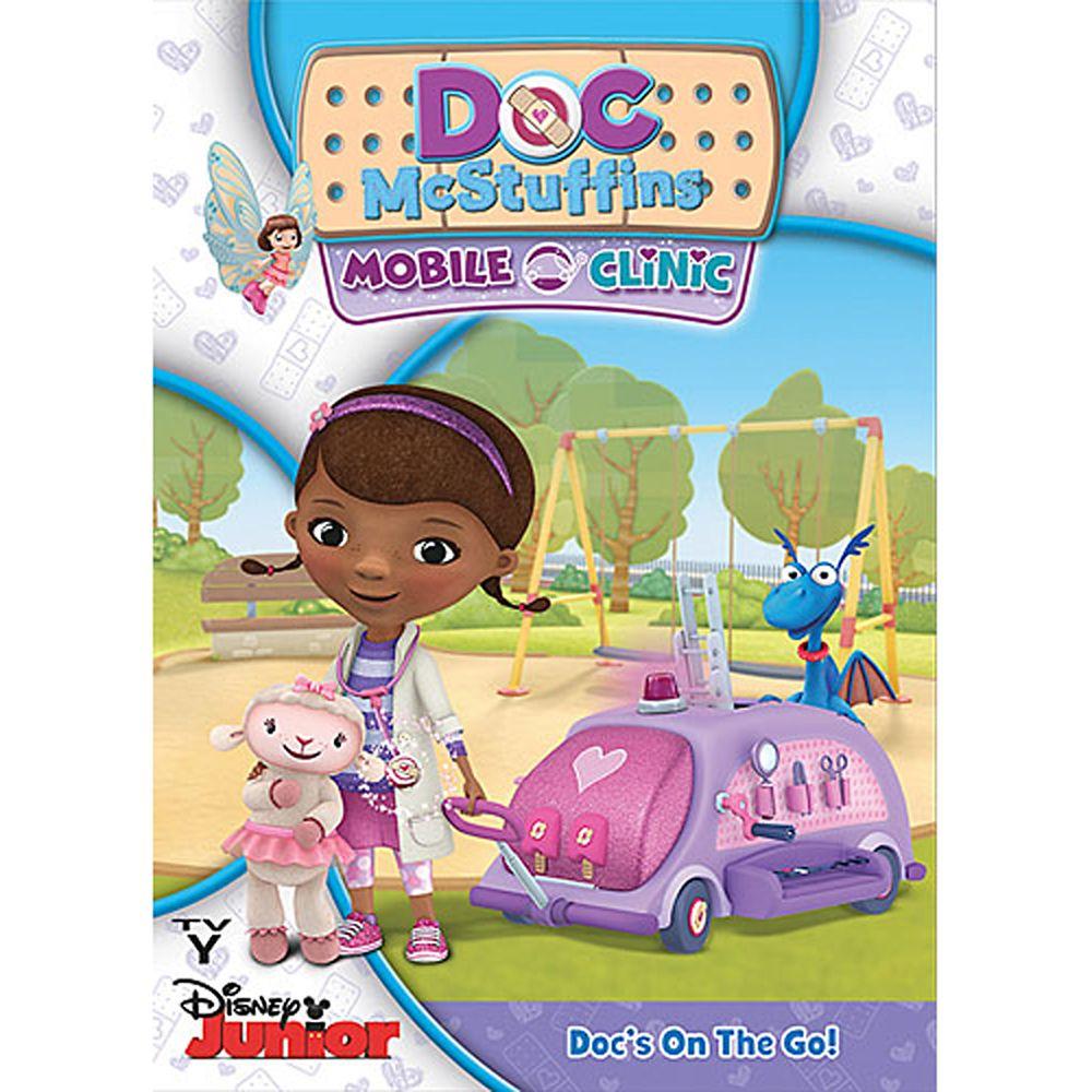 Doc McStuffins Mobile Clinic DVD Official shopDisney