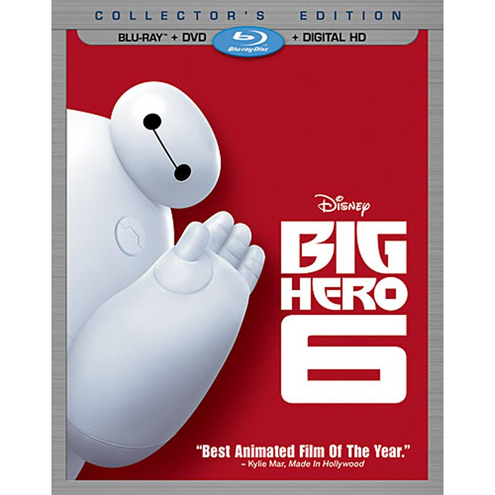 Big Hero 6 Collector's Edition Combo Pack Official shopDisney