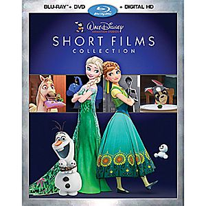 Walt Disney Animation Studios Short Films Collection Blu-ray Combo Pack 7745055551613P