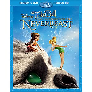 Tinker Bell and the Legend of the NeverBeast Blu-ray Combo Pack 7745055551615P