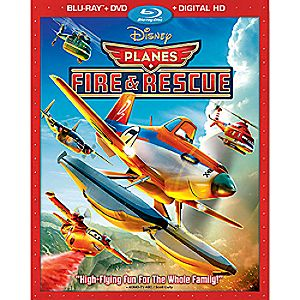 Planes: Fire & Rescue Blu-ray Combo Pack 7745055551617P