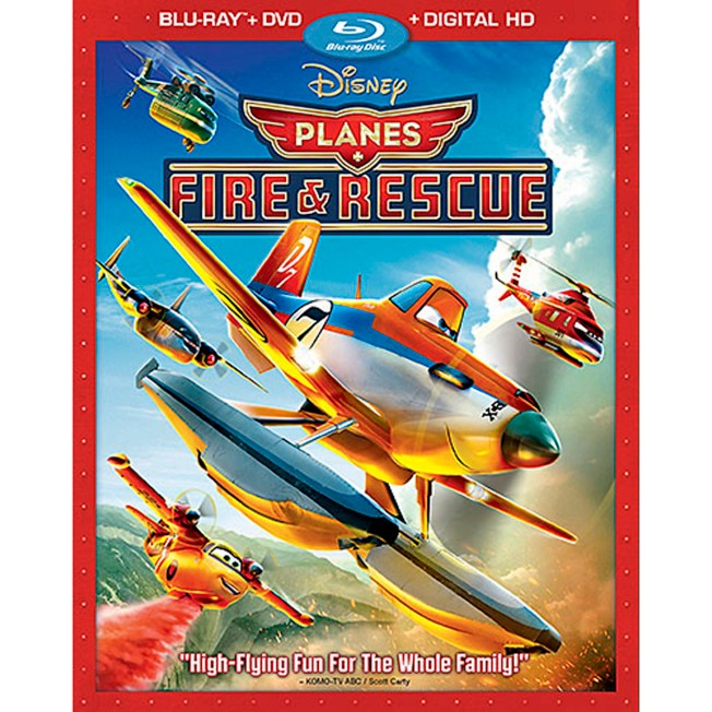 Planes: Fire & Rescue Blu-ray Combo Pack