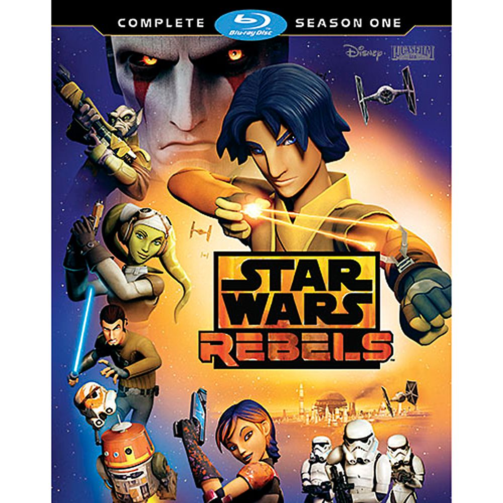 Star Wars Rebels Complete Season One Blu-ray