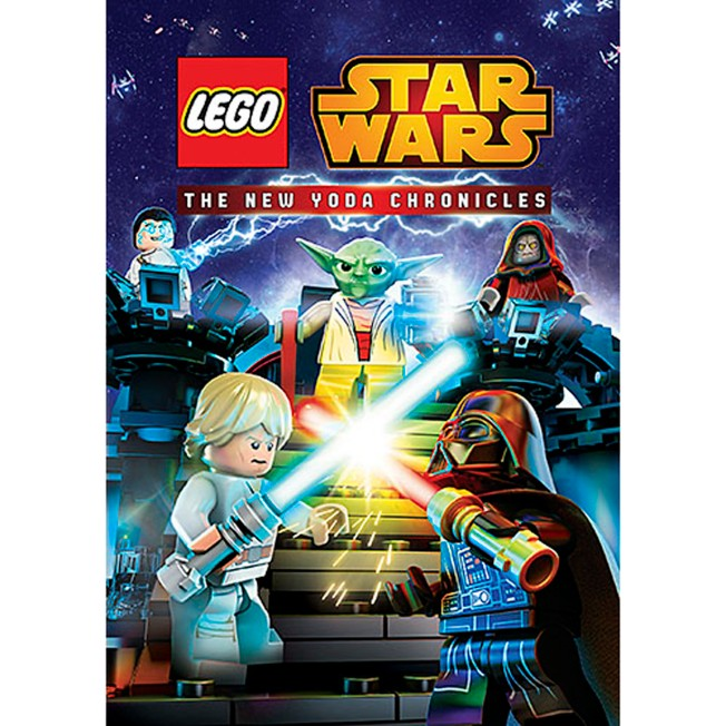 Star Wars LEGO: The New Yoda Chronicles DVD