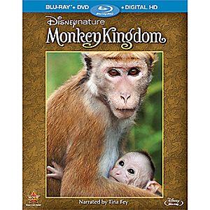 DisneyNature: Monkey Kingdom Blu-ray Combo Pack 7745055551628P