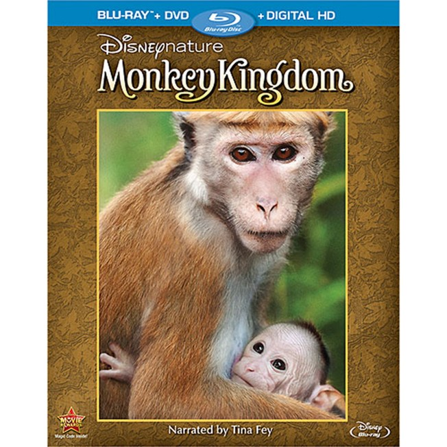 DisneyNature: Monkey Kingdom Blu-ray Combo Pack