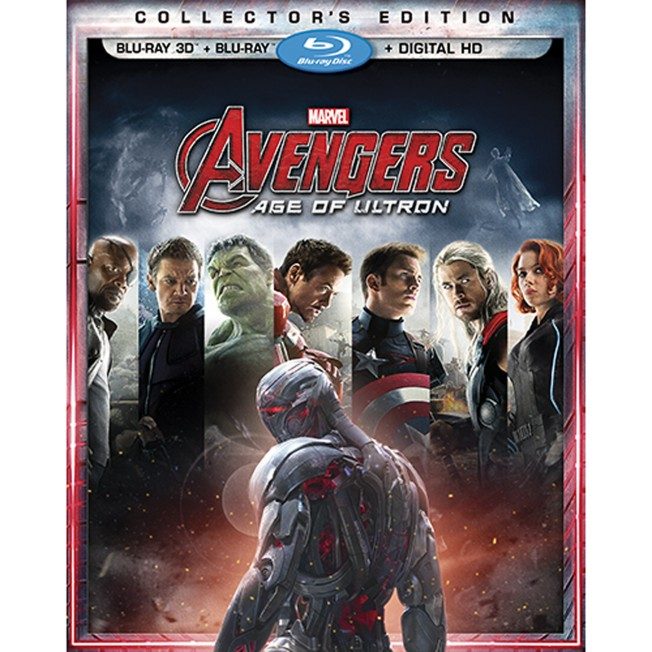 Marvel's Avengers: Age of Ultron Collectors Edition 3-D Combo Pack