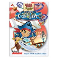 Captain Jake and the Never Land Pirates: The Great Never Sea Conquest DVD