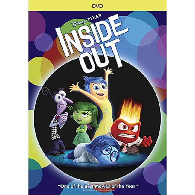 PIXAR Inside Out DVD