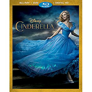 Cinderella Blu-ray Combo Pack - Live Action Film 7745055551659P