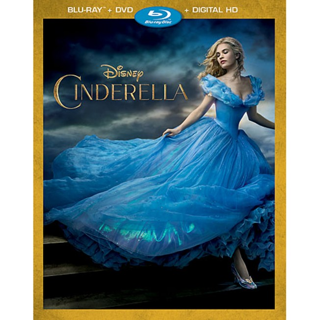 Cinderella Blu-ray Combo Pack – Live Action Film