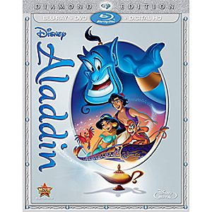 Aladdin Diamond Edition Blu-ray Combo Pack 7745055551733P