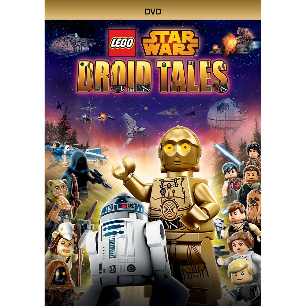 Star Wars LEGO: Droid Tales DVD