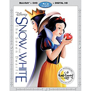 Snow White and the Seven Dwarfs Blu-ray Combo Pack 7745055551817P
