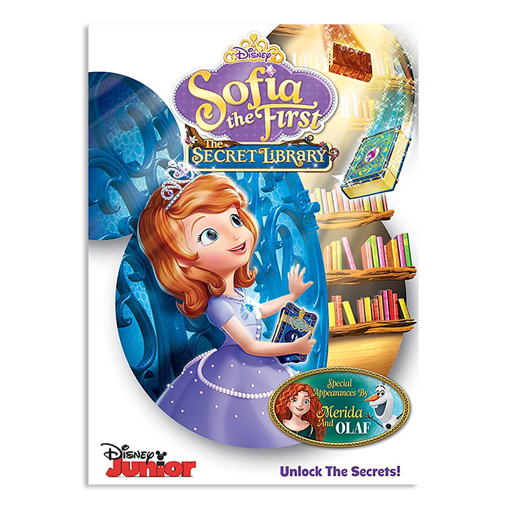 Sofia the First: The Secret Library DVD