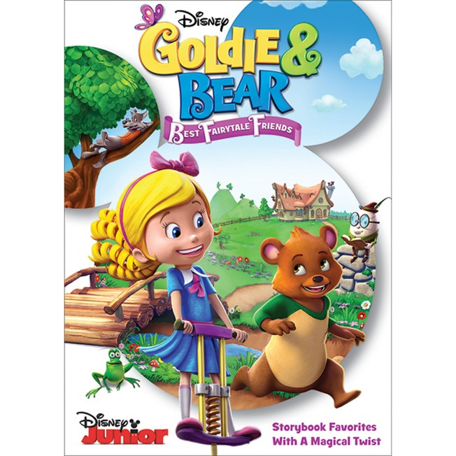 Goldie & Bear: Best Fairytale Friends DVD