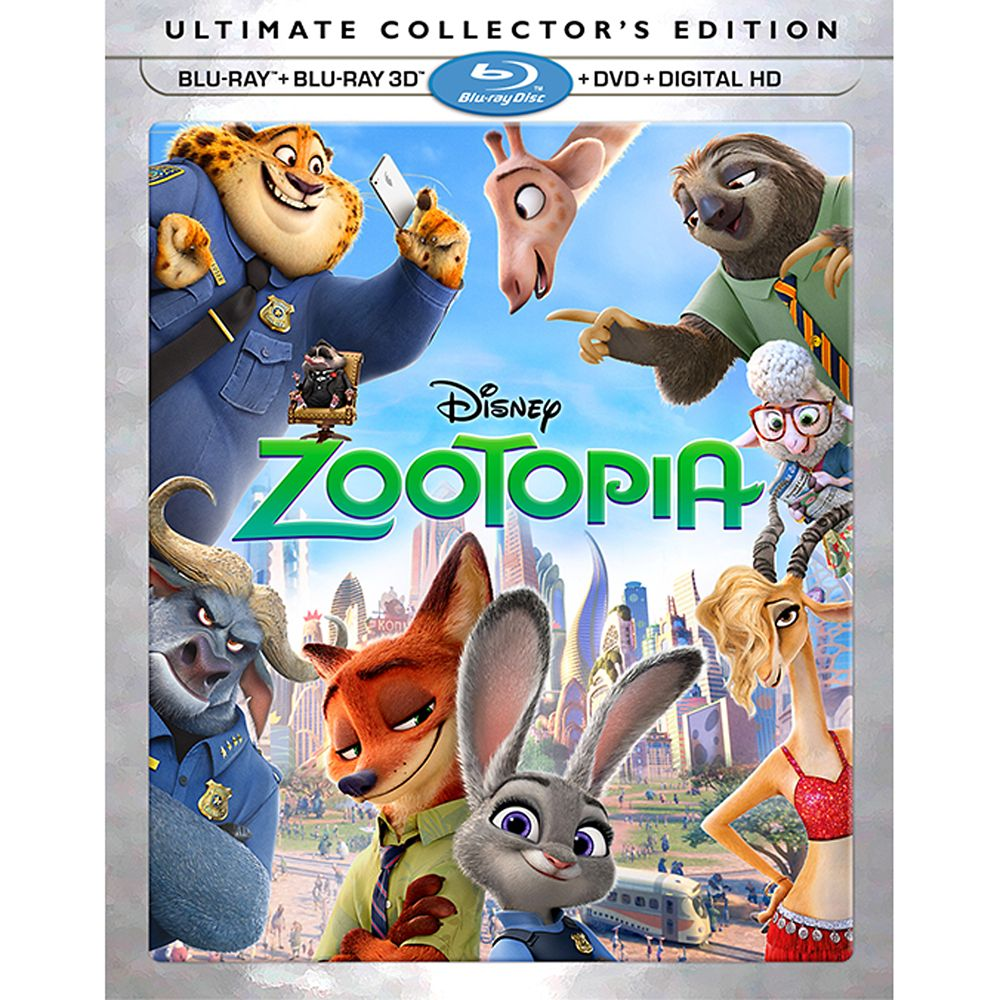 Zootopia Ultimate Collector's Edition 3D Combo Pack Official shopDisney
