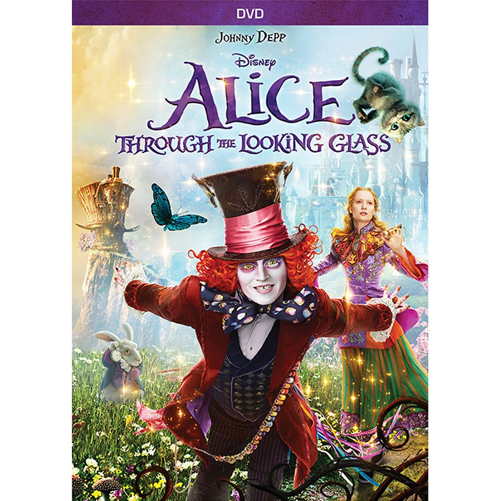 Alice Through the Looking Glass DVD Official shopDisney