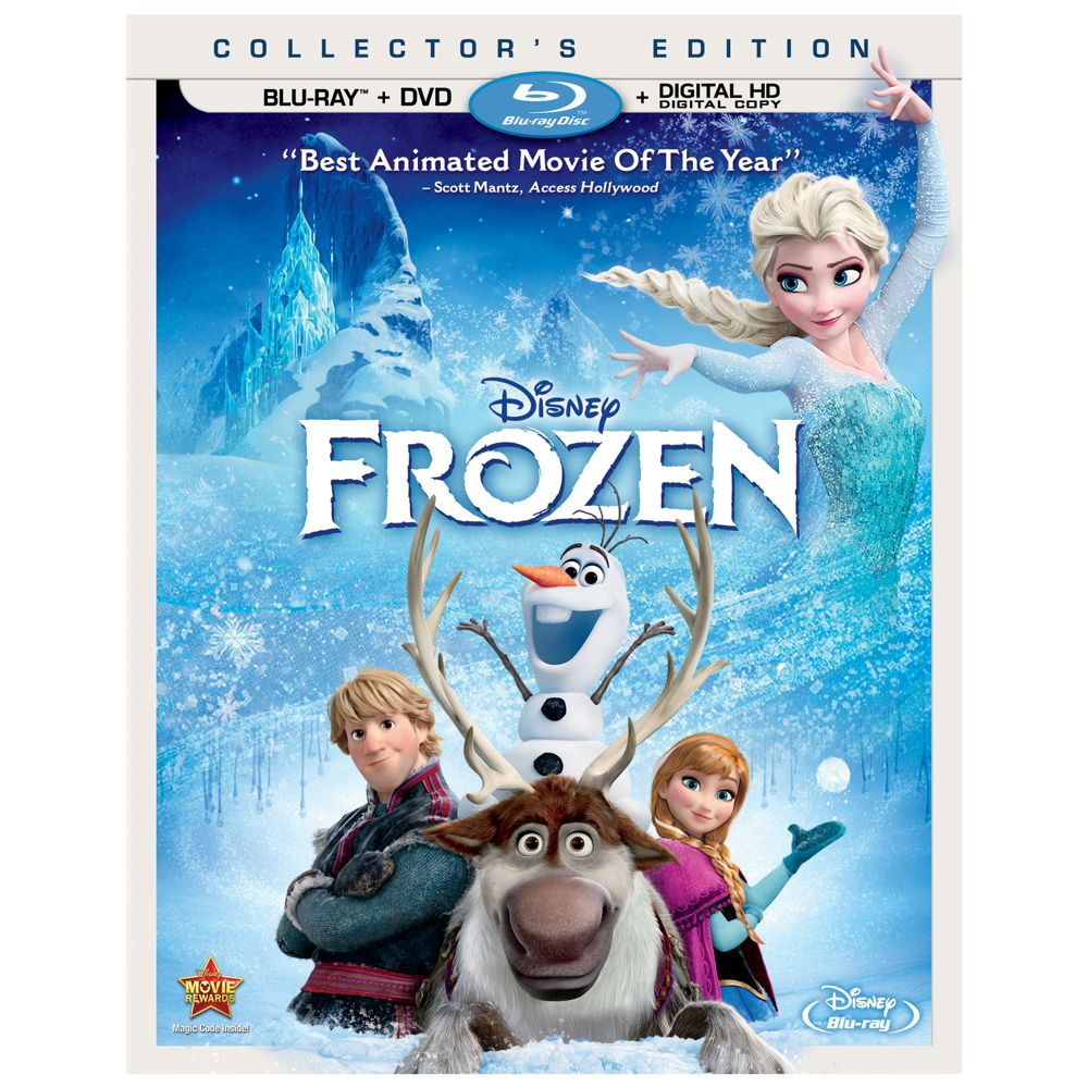Frozen Blu-ray Collector's Edition Official shopDisney