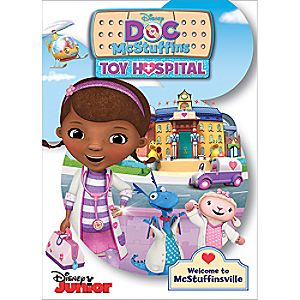 Doc McStuffins Toy Hospital DVD 7745055551955P