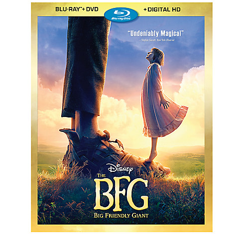 The BFG Blu-ray Combo Pack