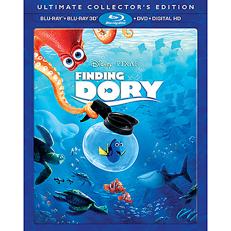 Finding Dory 3D Blu-ray Ultimate Collector's Edition