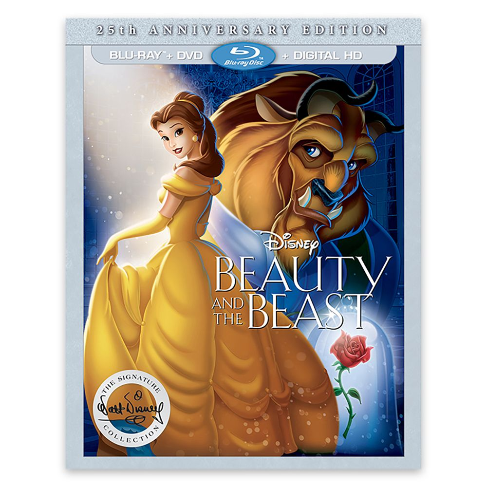 Beauty and the Beast 25th Anniversary Edition Blu-ray Combo Pack