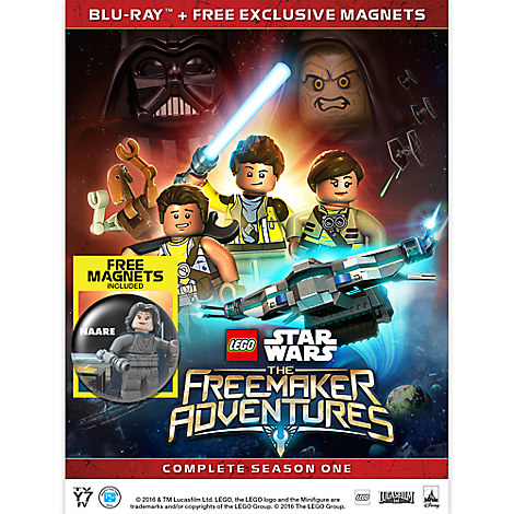 LEGO Star Wars: The Freemaker Adventures Season One Blu-ray
