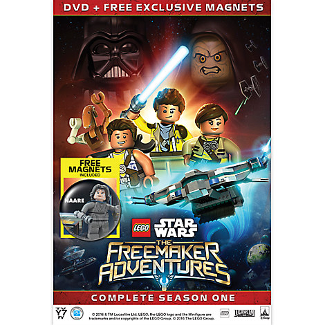 LEGO Star Wars: The Freemaker Adventures Season One DVD
