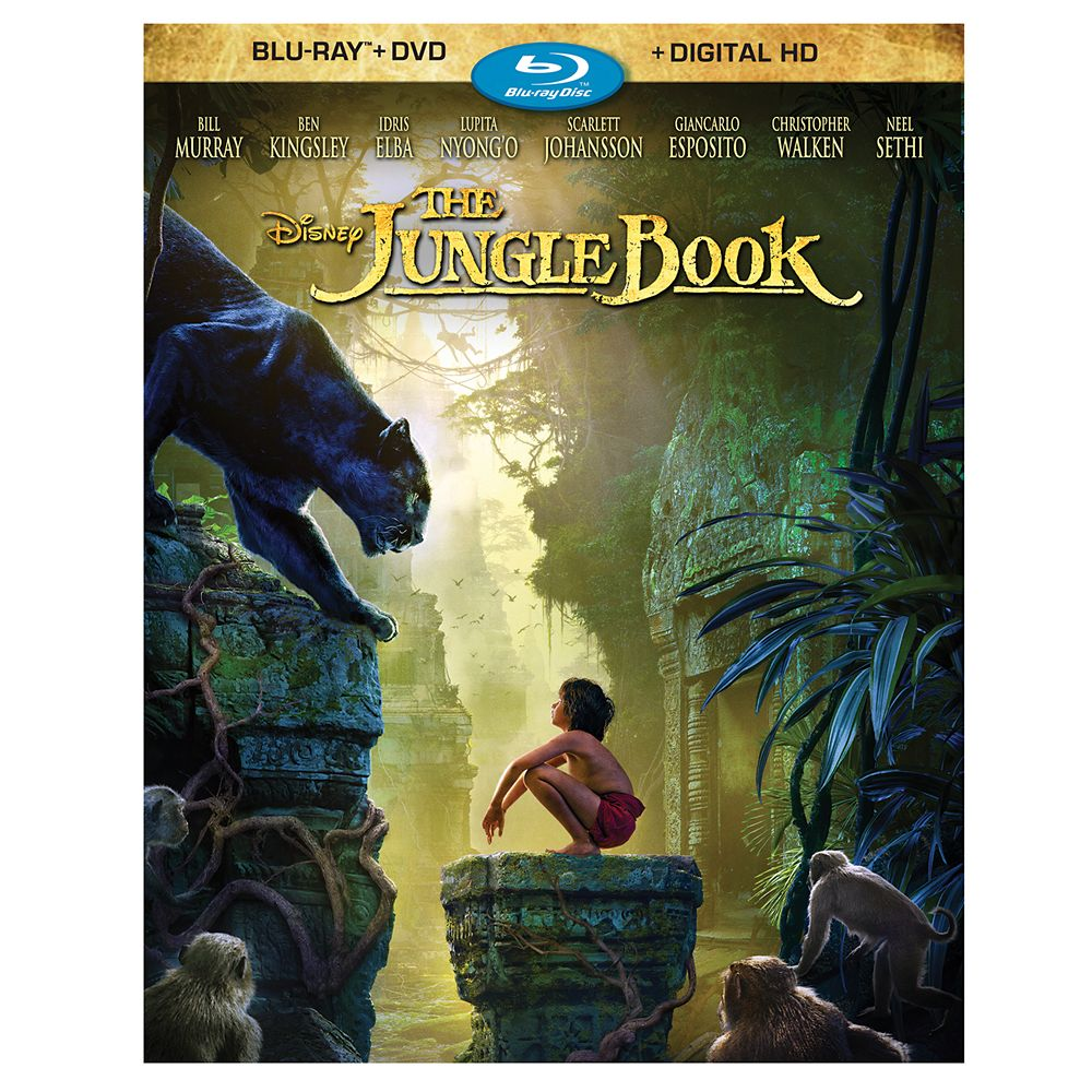 The Jungle Book Blu-ray Combo Pack – Live Action