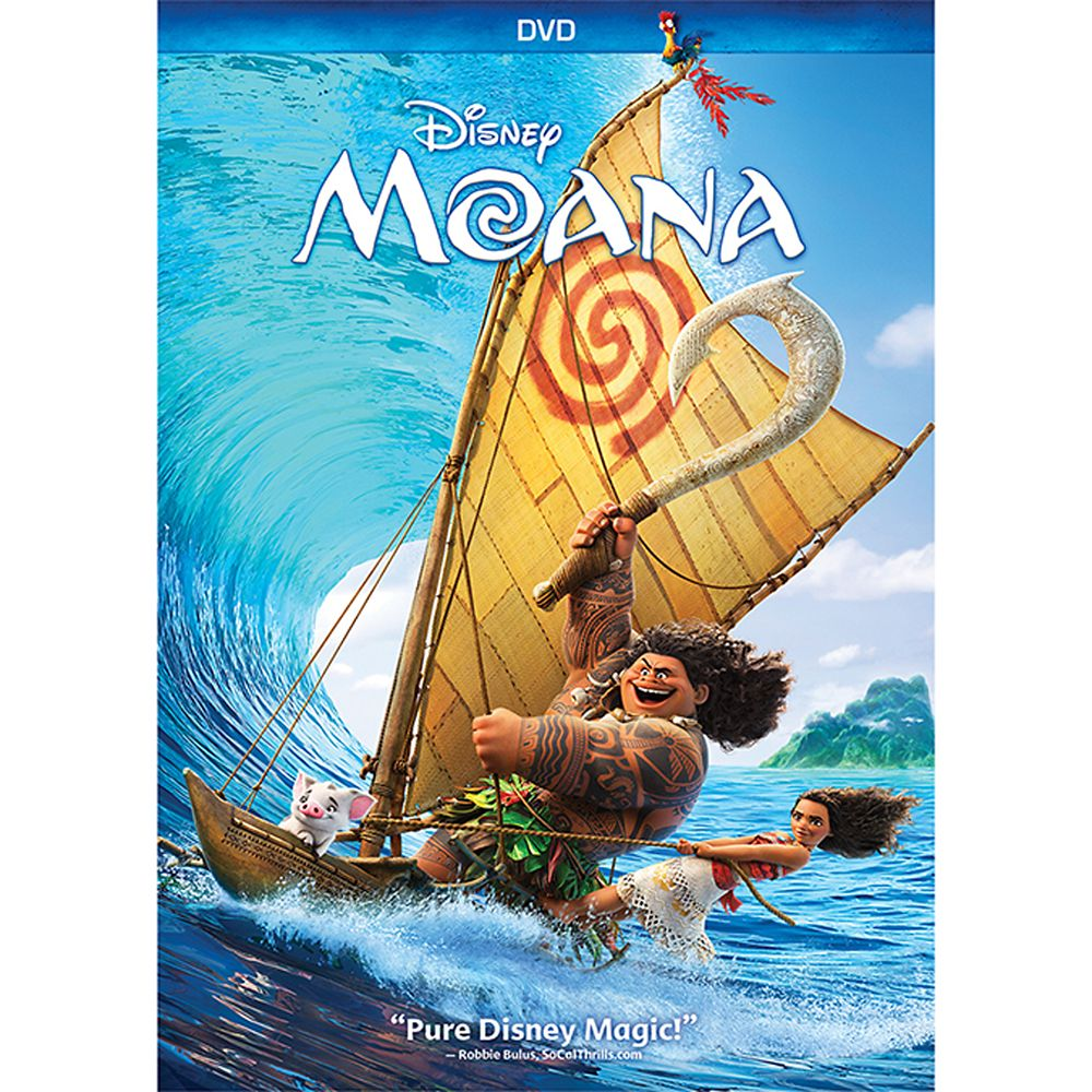 Disney Moana DVD