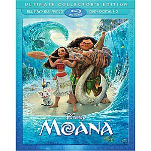 Disney Moana 3D Blu-ray Ultimate Collectors Edition 7745055551990P