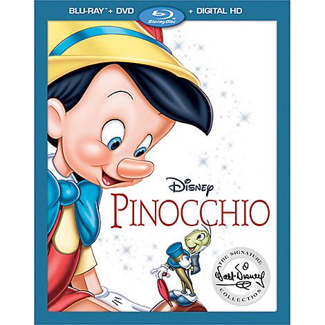 Pinocchio Blu-ray Combo Pack