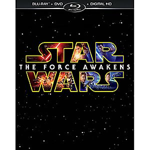 Star Wars: The Force Awakens Blu-ray Combo Pack 7745055552088P