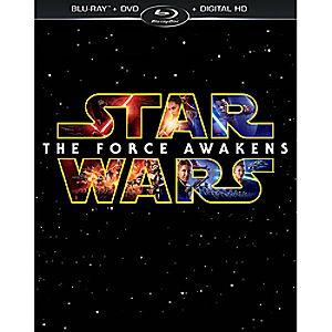 Star Wars: The Force Awakens Blu-ray Combo Pack 7745055552088P
