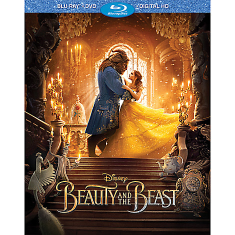 Beauty and the Beast - Live Action Film - Blu-ray Combo Pack