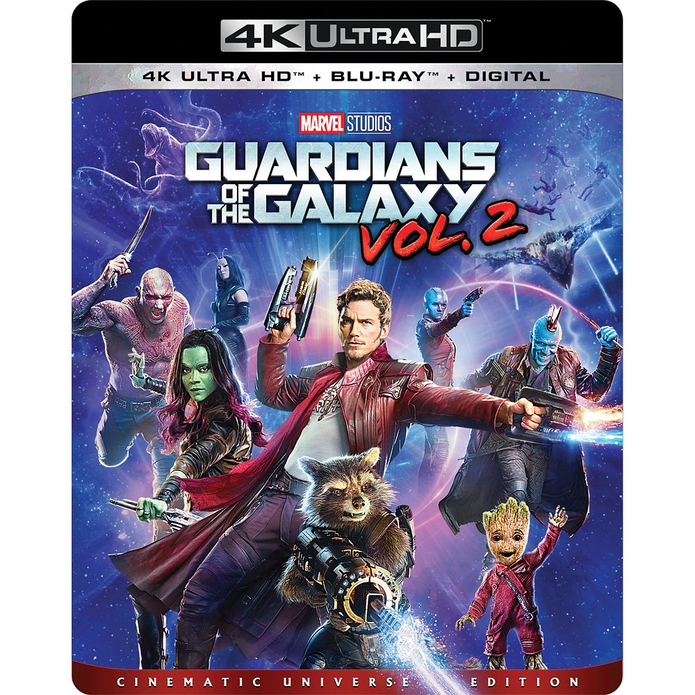 Guardians of the Galaxy Vol 2. – 4K Ultra HD