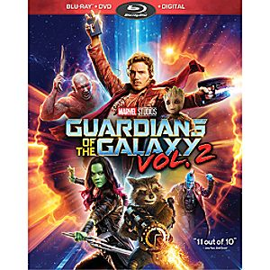 Guardians of the Galaxy Vol. 2 Blu-ray Combo Pack 7745055552252P