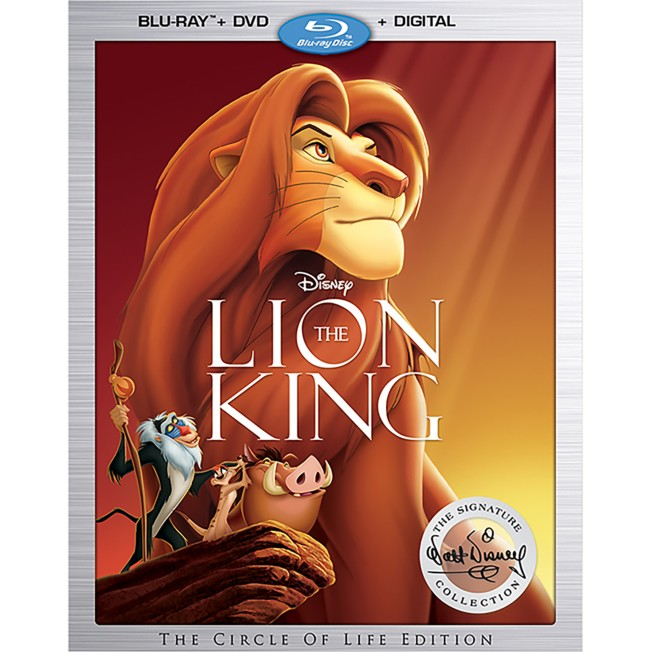 The Lion King Blu-ray Combo Pack – Signature Collection